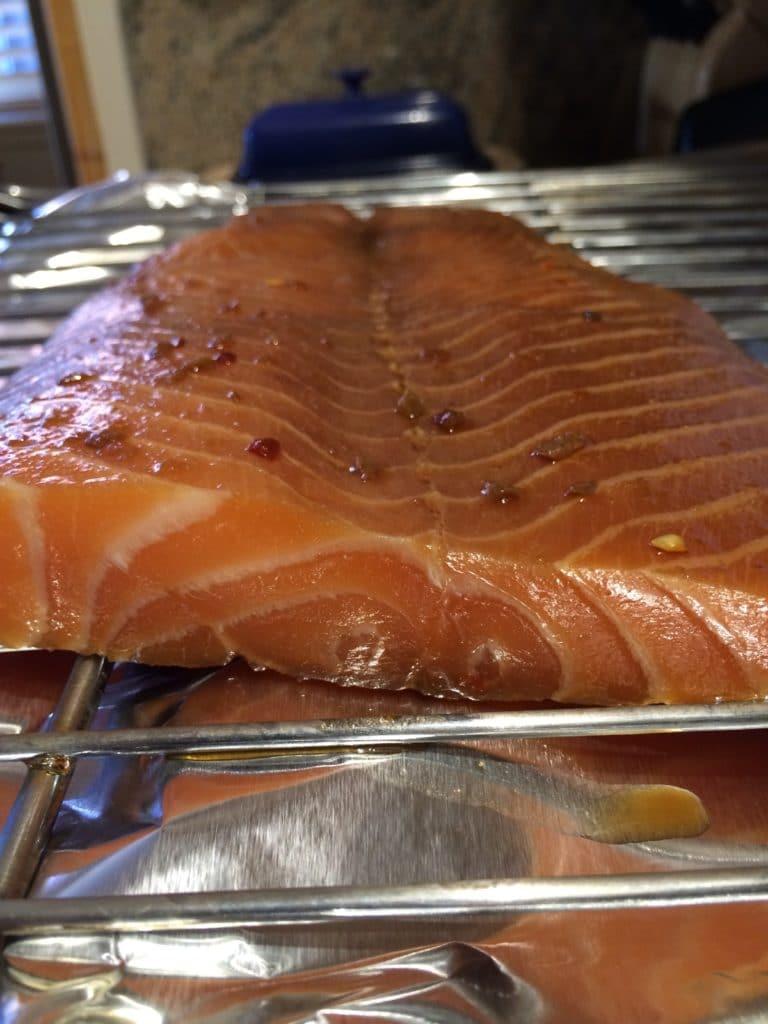 Brine for fish smoking