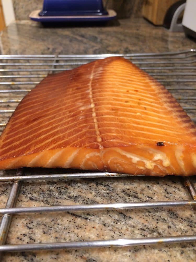 how to make smoked salmon and brine recipe