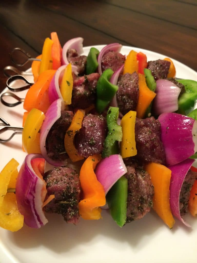 honey mint lamb kabobs5