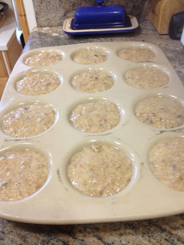 pre cook muffin