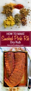 My Dry Rub for Smoked Pork Ribs has a blend of brown sugar and spices for a wonderful flavor for either grilling or smoking. Coriander, fennel, paprika and red pepper flakes help make this special.