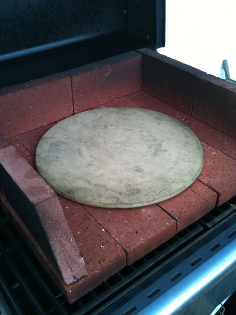 easy homemade pizza brick oven