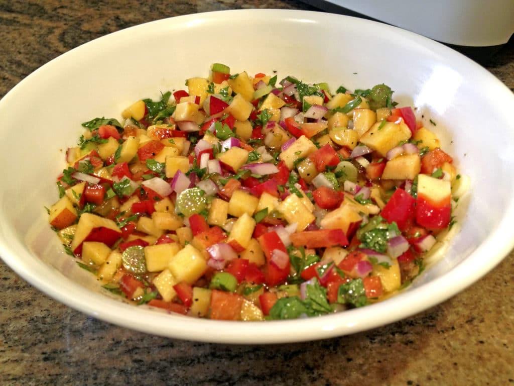 Spicy Nectarine Salsa1