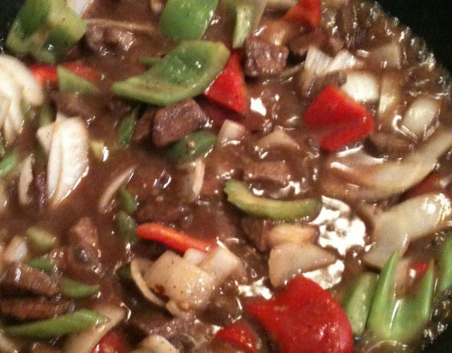 Black Bean Beef Stir Fry