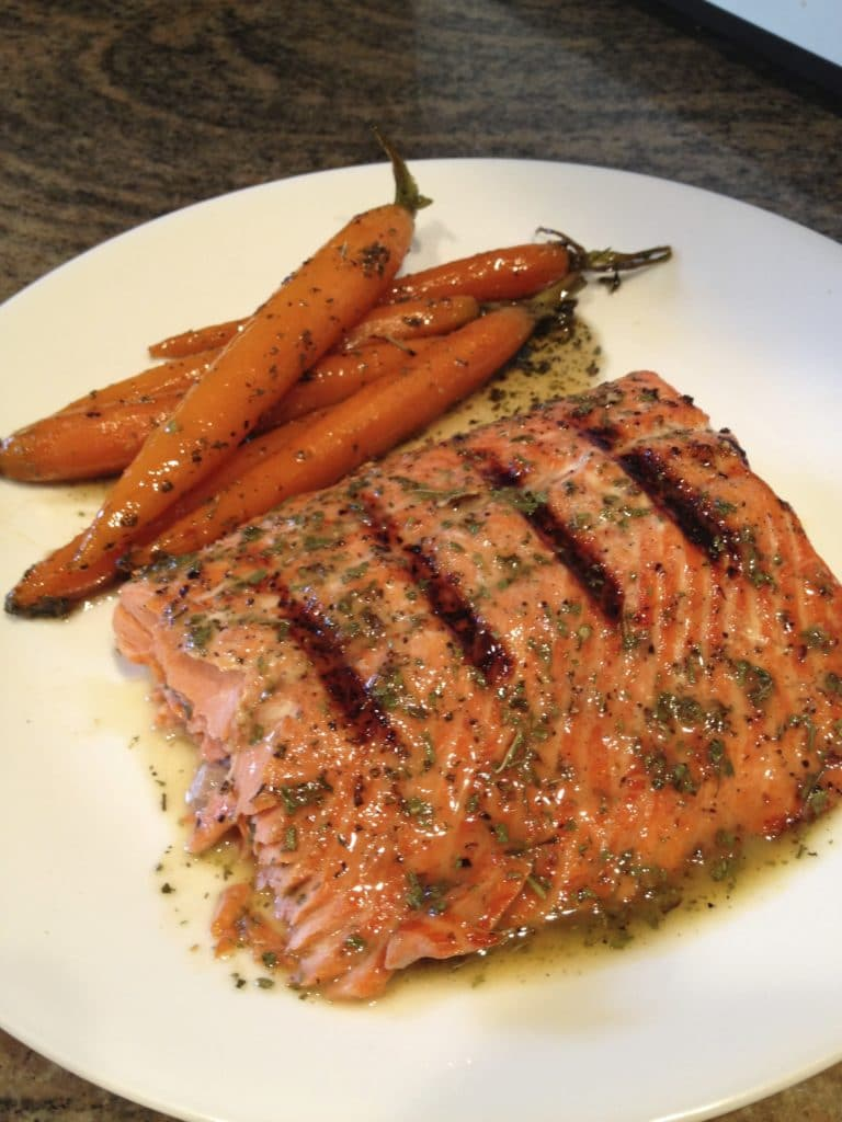 glazed-carrots-salmon
