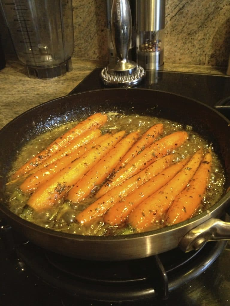 glazing-carrots