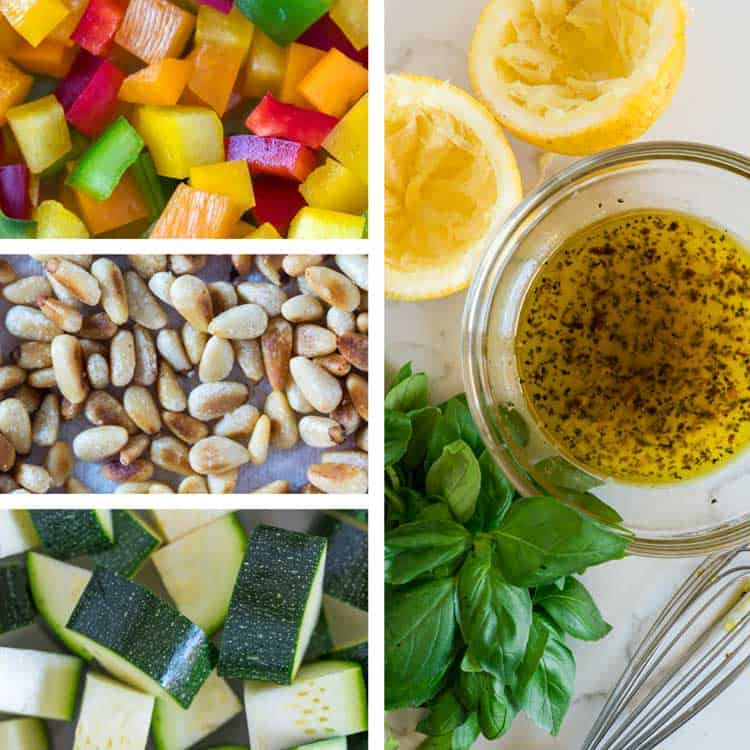 Couscous Salad ingredients