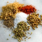 My Dry Rub for Pork Ribs has a blend of brown sugar and spices for a wonderful flavor for either grilling or smoking. Coriander, fennel and paprika help make this special. keviniscooking.com