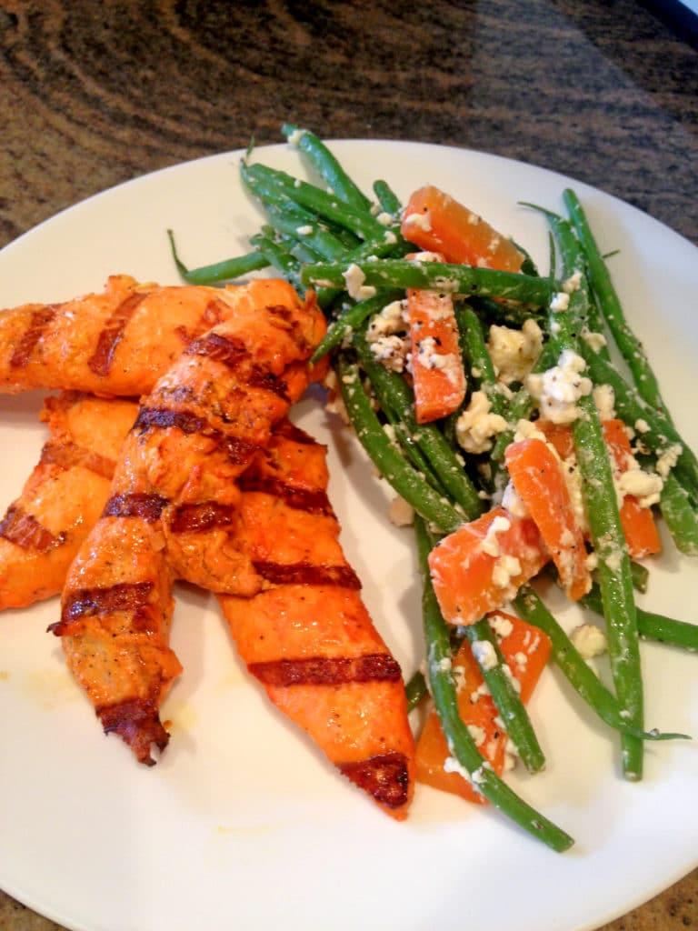 grilled-chicken-feta-vegetables
