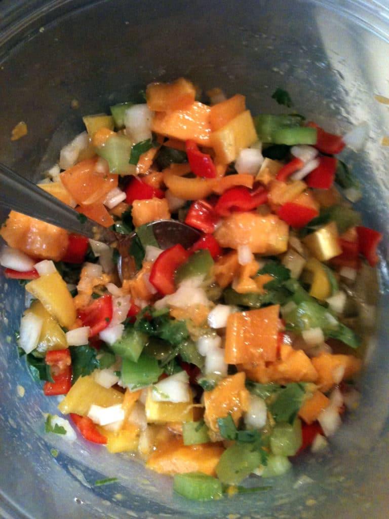 papaya-salsa