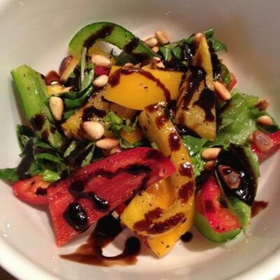 Pepper Basil Salad