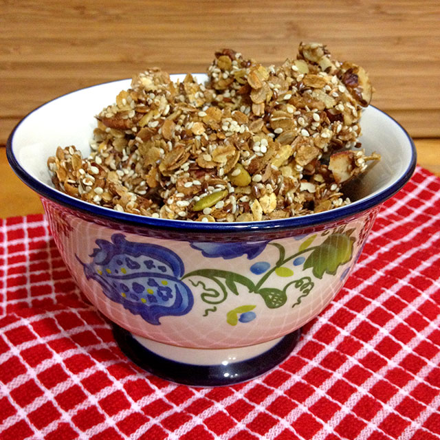 The Best Granola Recipe - keviniscooking.com