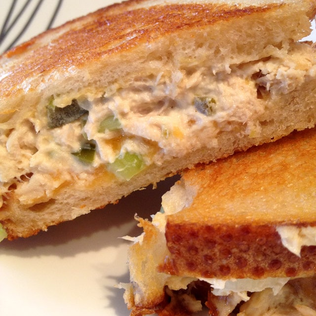 Spicy Tuna Melt - keviniscooking.com
