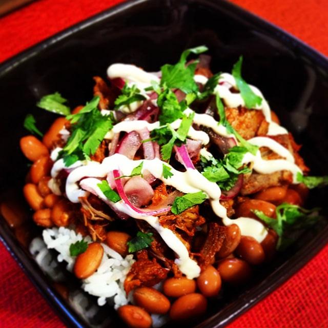 yucatan pork (cochinita pibil) - kevin is cooking