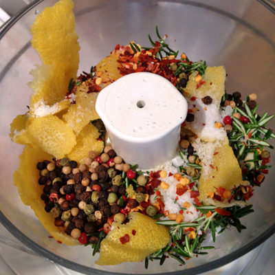 Easy Herb and Lemon Spicy Marinade