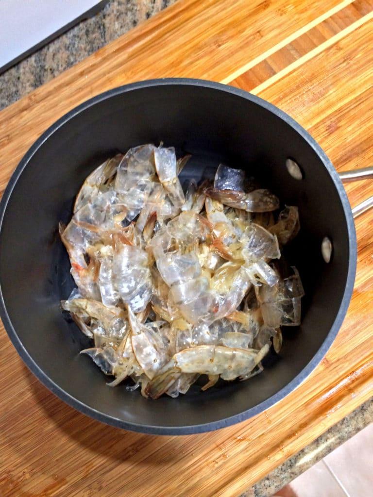shrimp bones