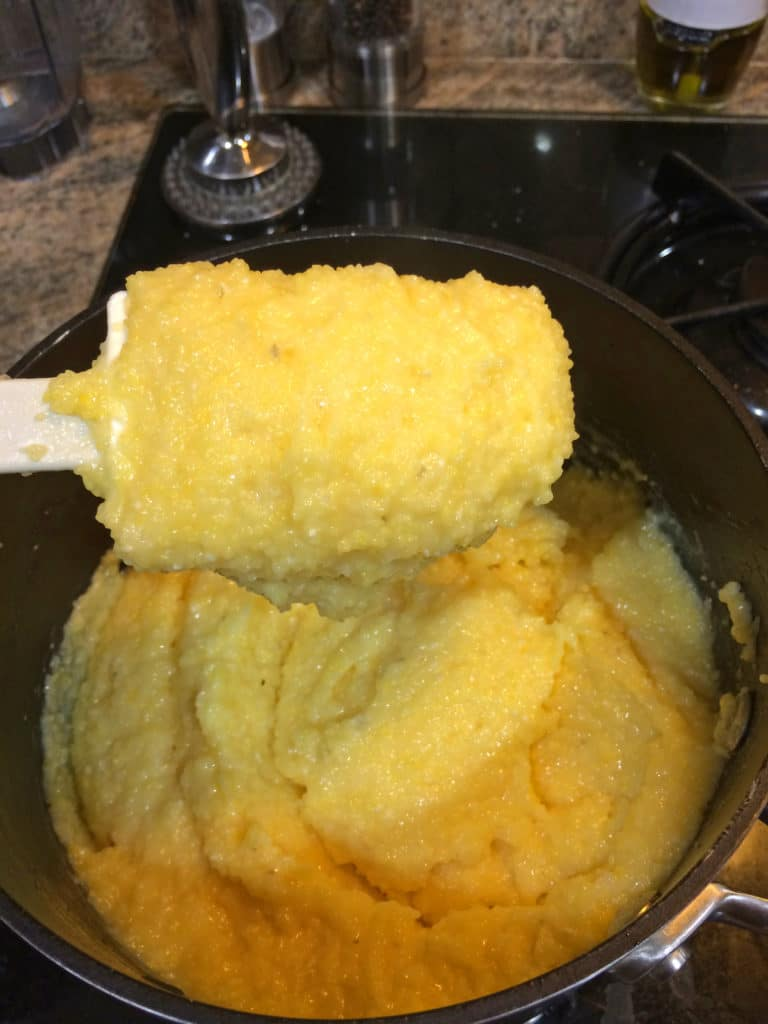 yellow cheese grits