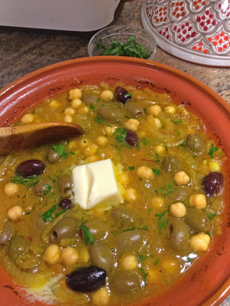 butter addition tagine