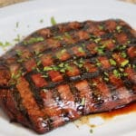 Teriyaki Marinated Flank Steak