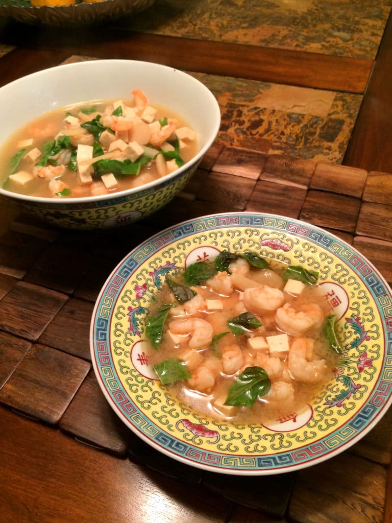 lemon basil shrimp soups