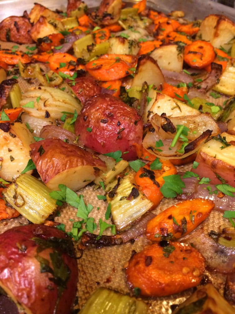 Roasted Vegetables Recipe — Dishmaps