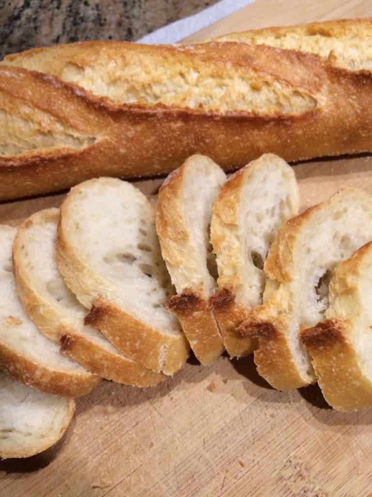 sliced sourdough