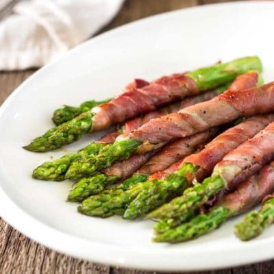 Wrapped Asparagus with Prosciutto and Sage