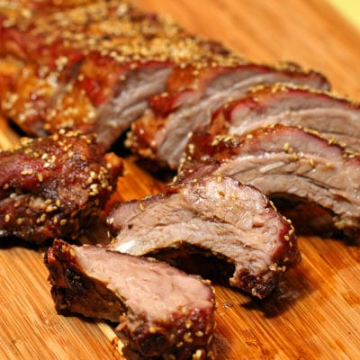 Curry, Five Spice Dry Rubbed Pork Ribs