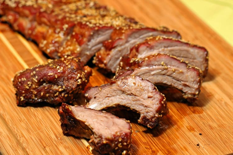 Curry Five Spice Dry Pork Ribs  cut feature