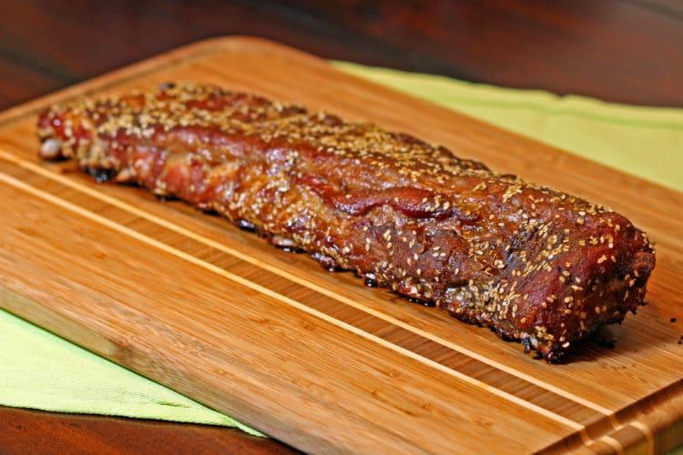 Curry Five Spice Dry Pork Ribs rack