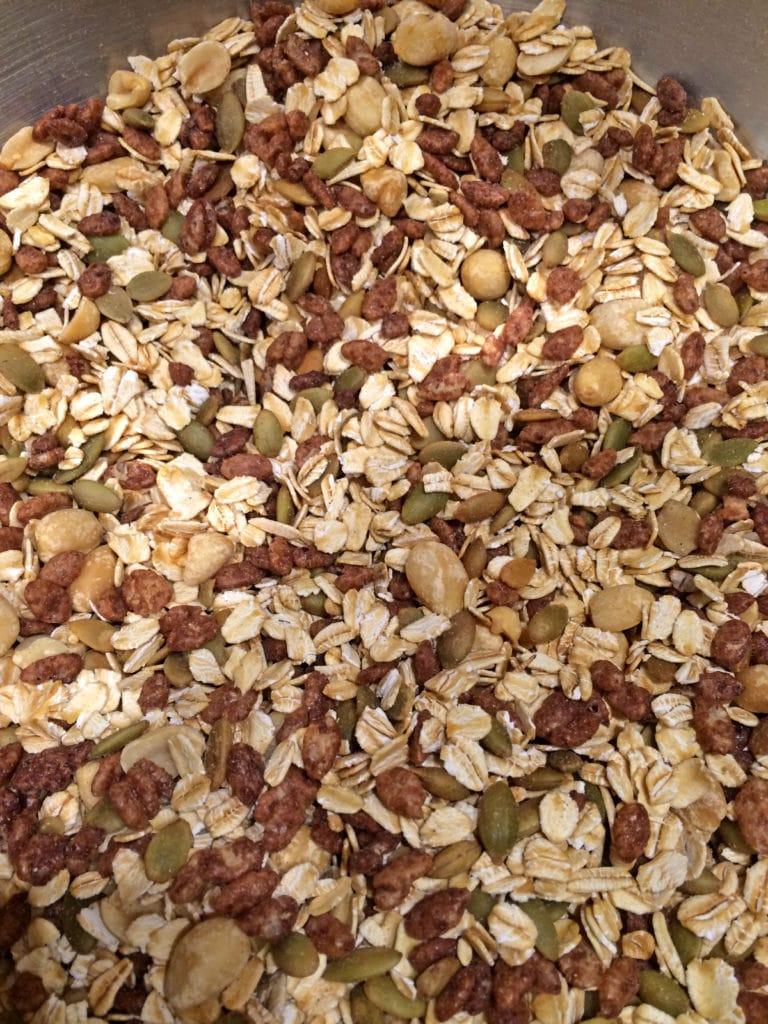 Easy Peanut Butter Granola Bars mix