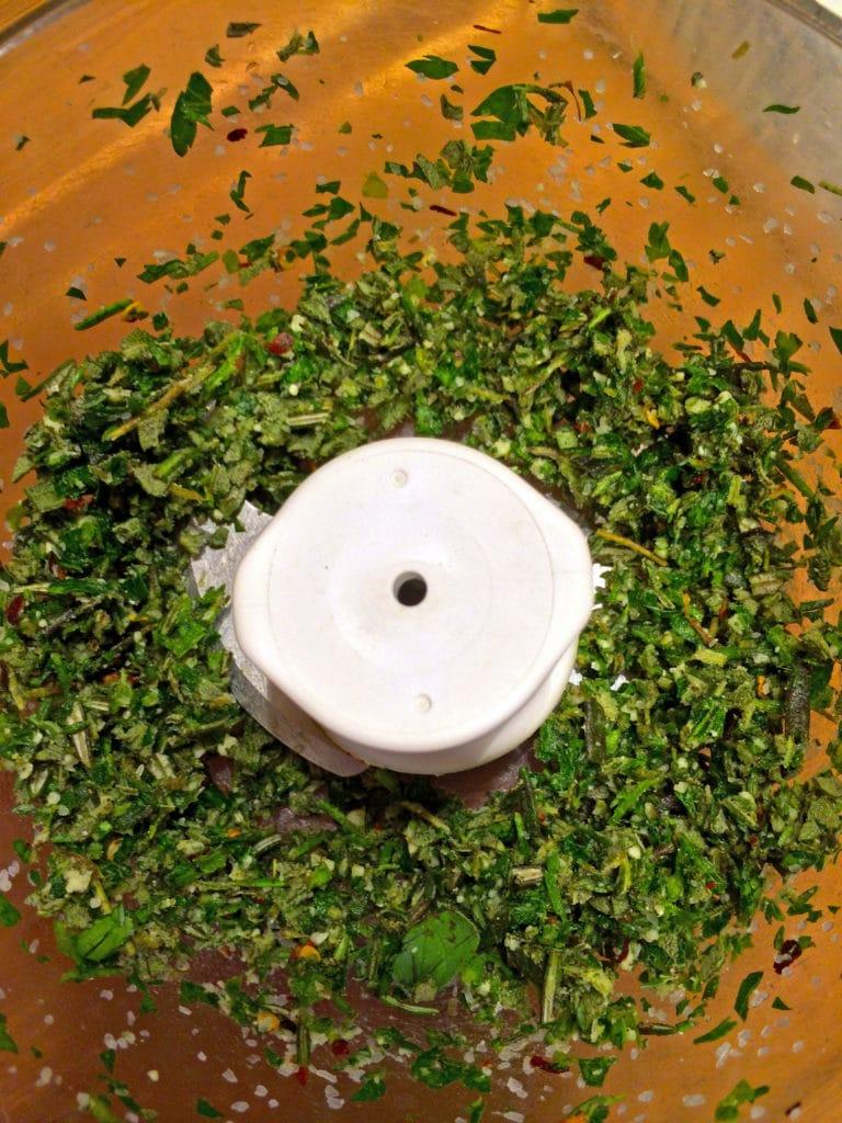 Herb Bleu Cheese Compound Butter4