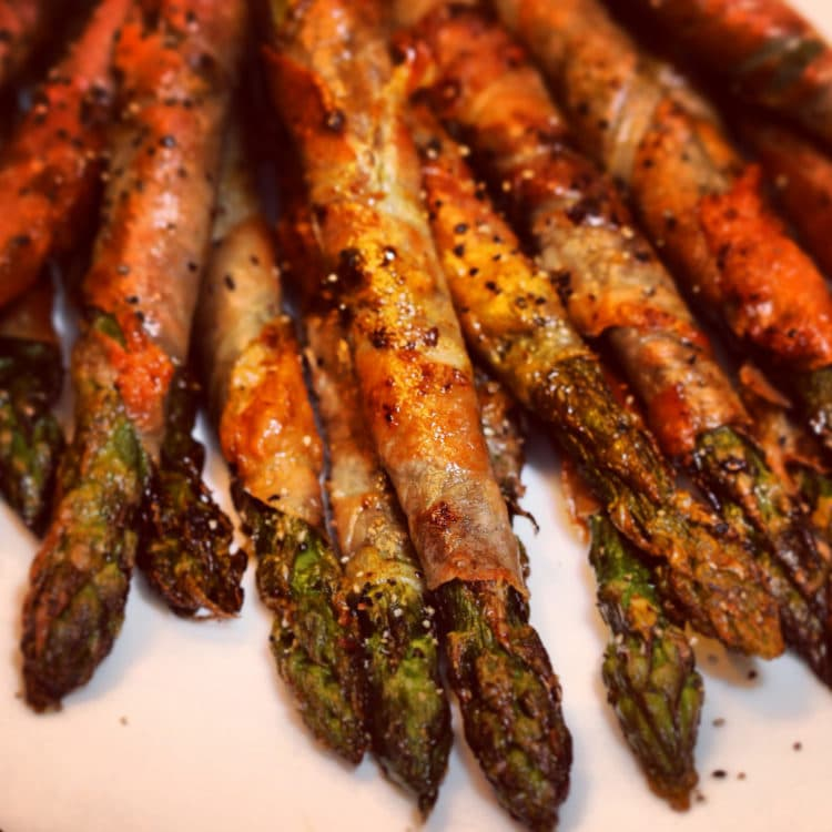 Crispy Prosciutto Wrapped Asparagus Recipes — Dishmaps