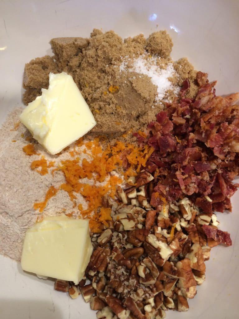 Sweet Potatoes with Bacon Pecan Streusel5