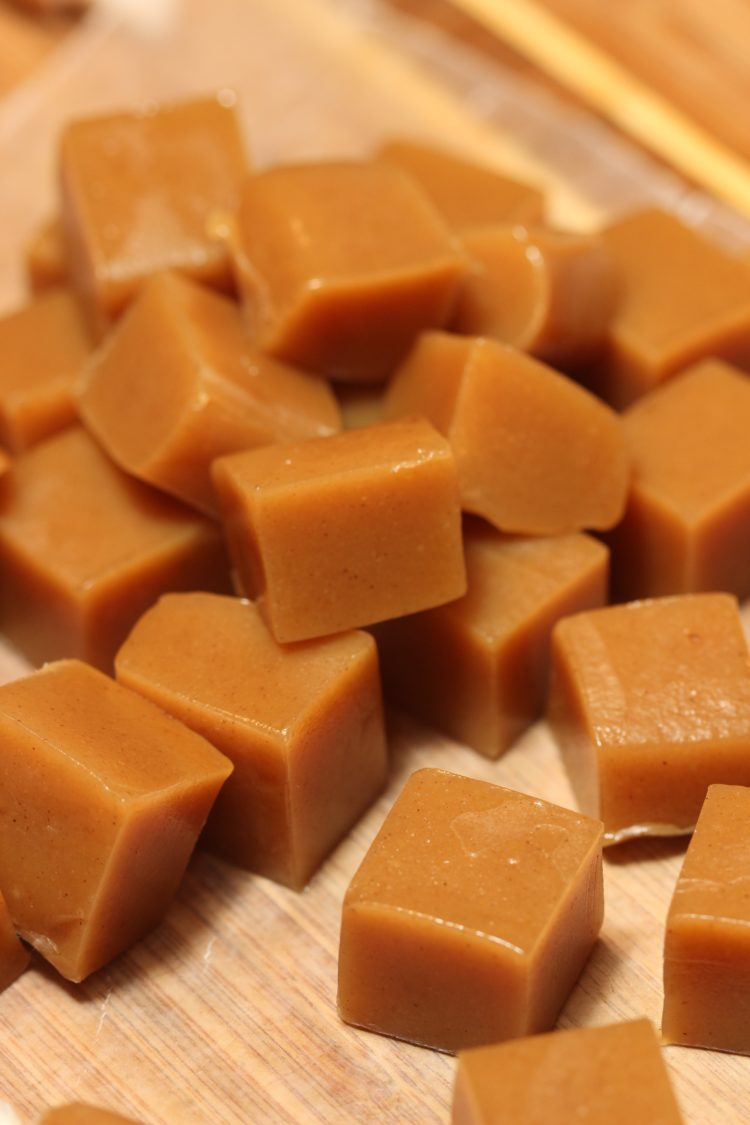 Cinnamon Apple Caramels - keviniscooking.com