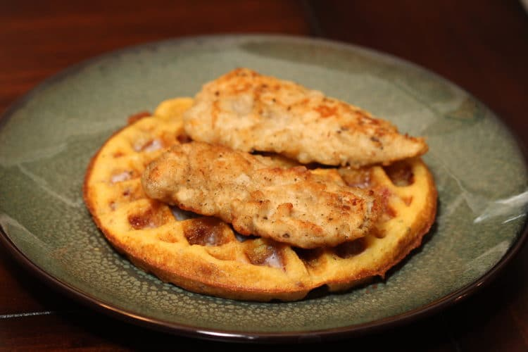 chicken waffle feature