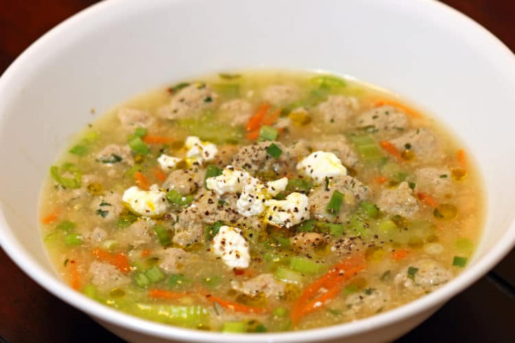 meatball soup feature