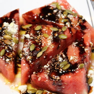 Watermelon, Feta, Pepita Salad