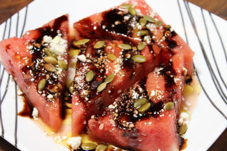 Watermelon, Feta, Pepita Salad - keviniscooking.com