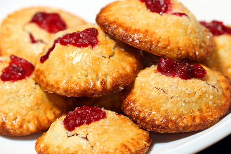 Cranberry, Apple, Ginger Hand Pies