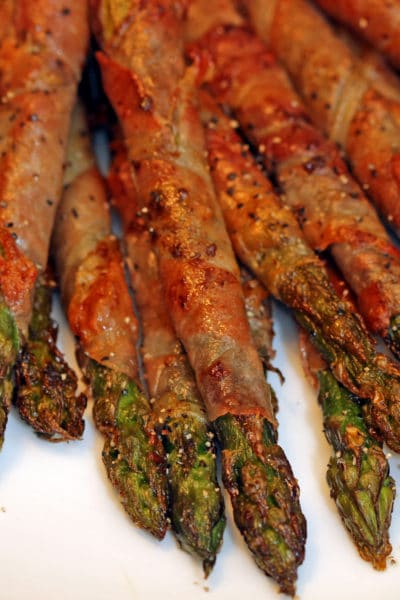 Prosciutto Sage Wrapped Asparagus
