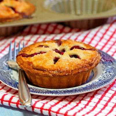 Apple Berry Mini Pies