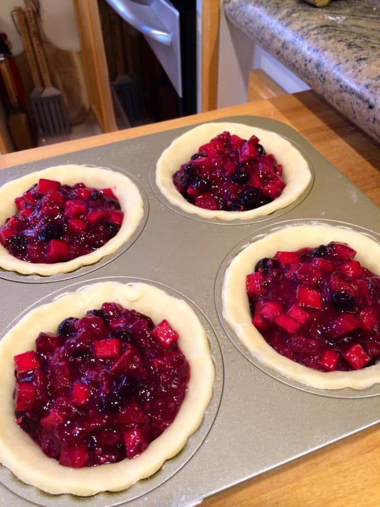 Apple Berry Mini Pies5