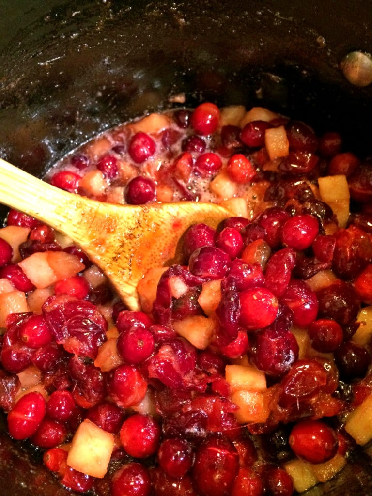 Apple Cranberry Chutney4