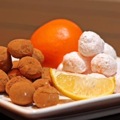 Citrus Creamsicle Truffles