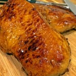 Ginger Spice Brined Pork Loin Chops with Apple Glaze