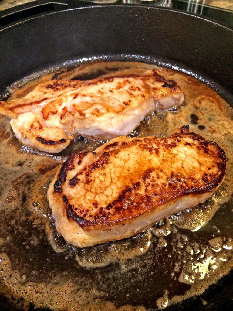 Ginger Spice Brined Pork Loin Chops4