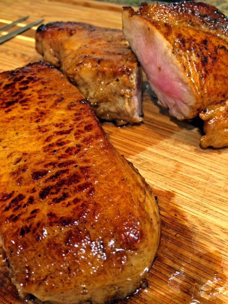 Ginger Spice Brined Pork Loin Chops6