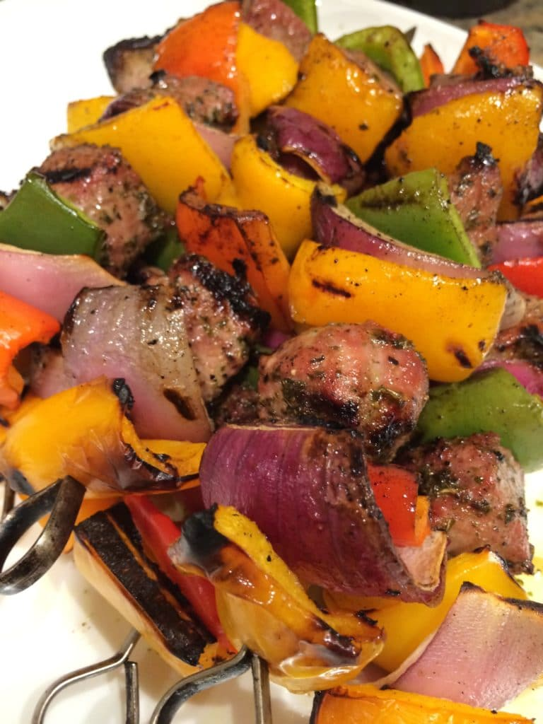 Honey and Mint Lamb Kabobs8