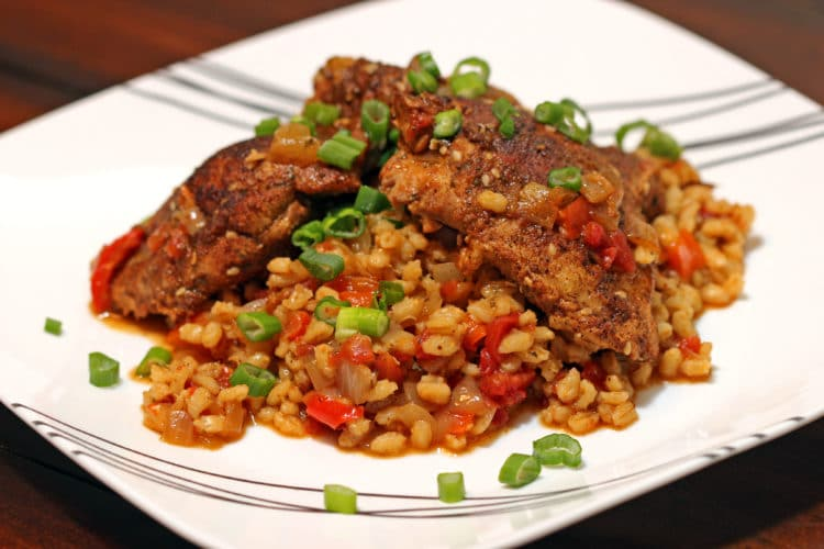 Moroccan Smothered Chicken and Barley7
